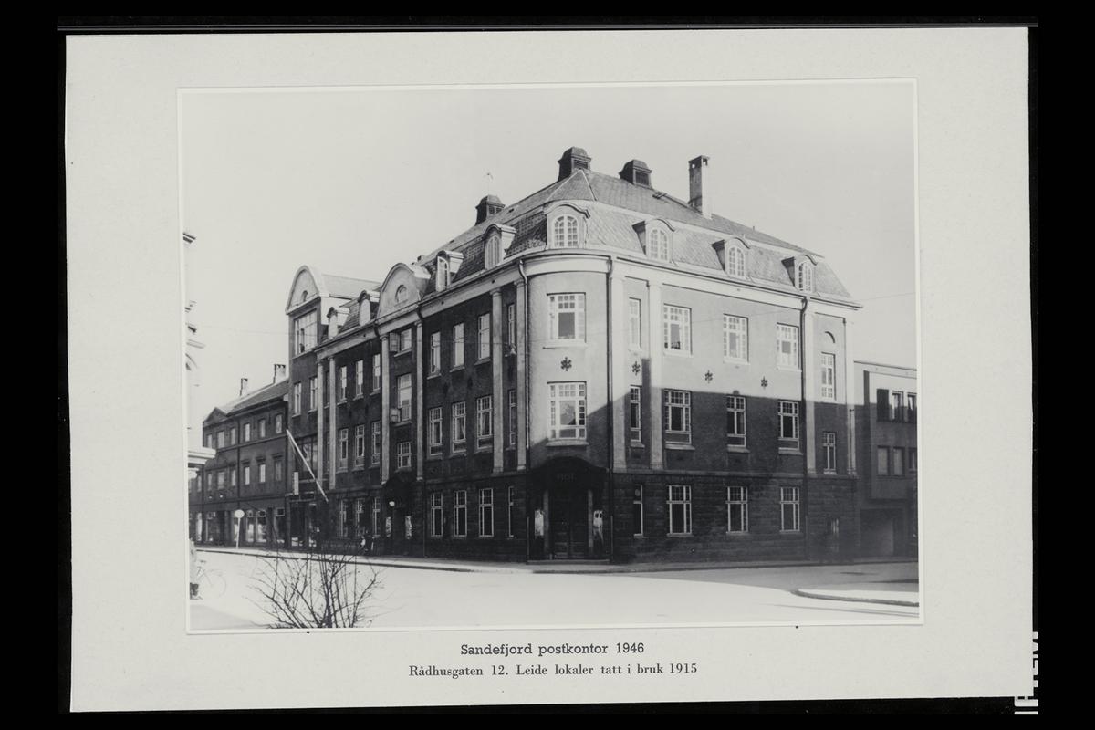 eksteriør, postkontor, 3200 Sandefjord