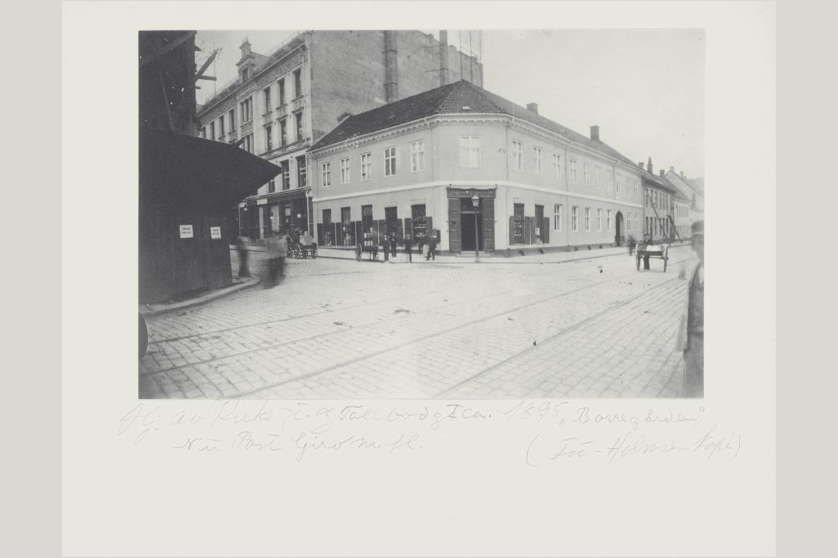 eksteriør, postkontor, 0101 Oslo, postkasse, Borregården