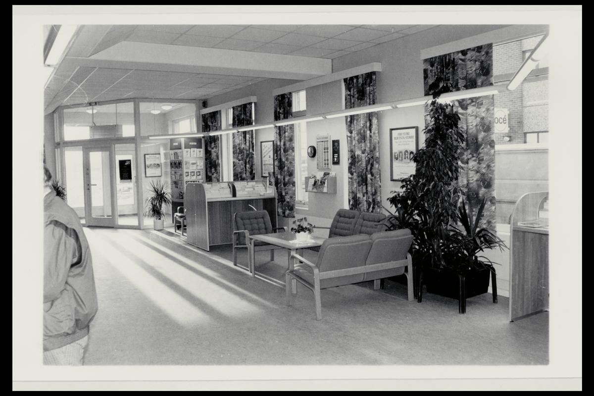 interiør, postkontor, 9800 Vadsø, publikumshall