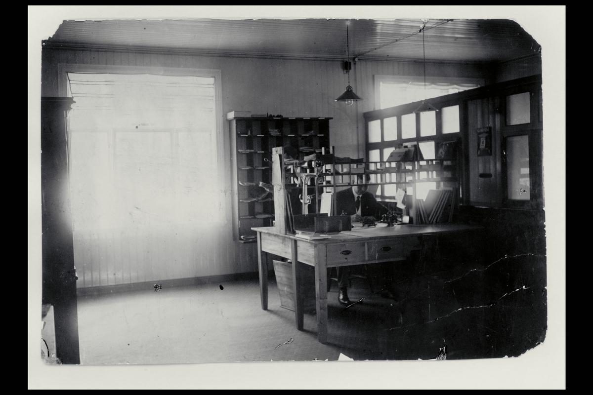 interiør, postkontor, 7650 Verdal, ekspedisjon