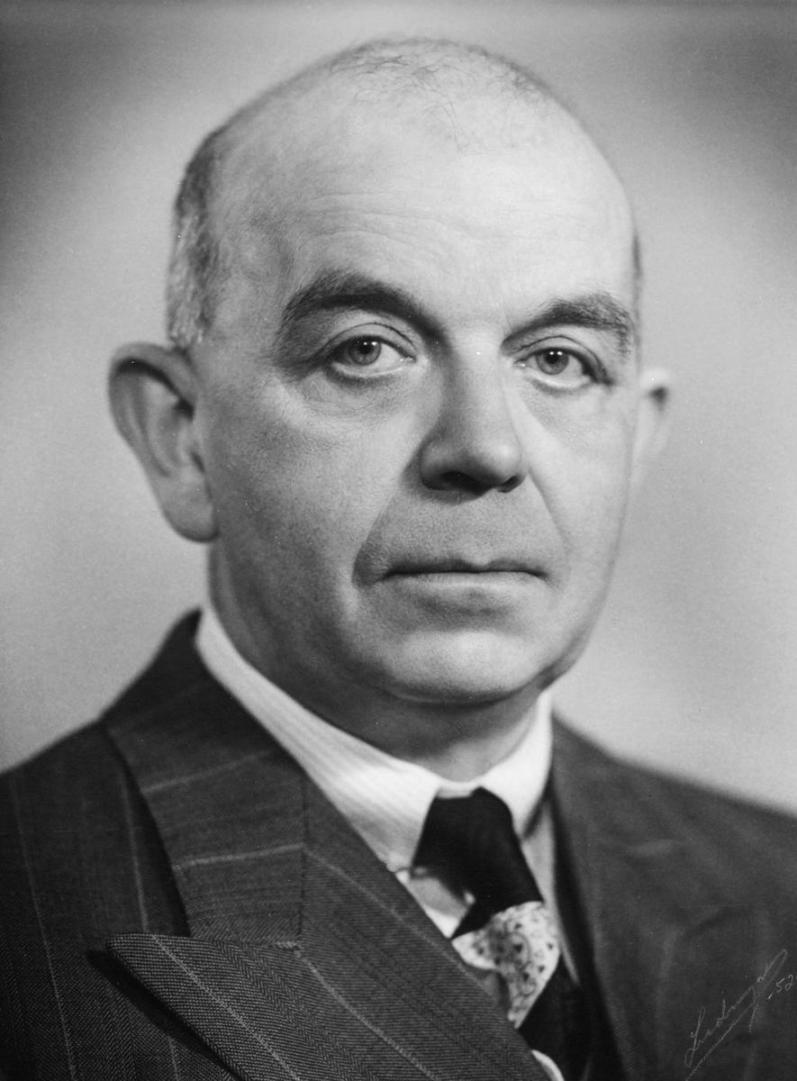 portrett, postmester, Karl Kjelgaard Askim