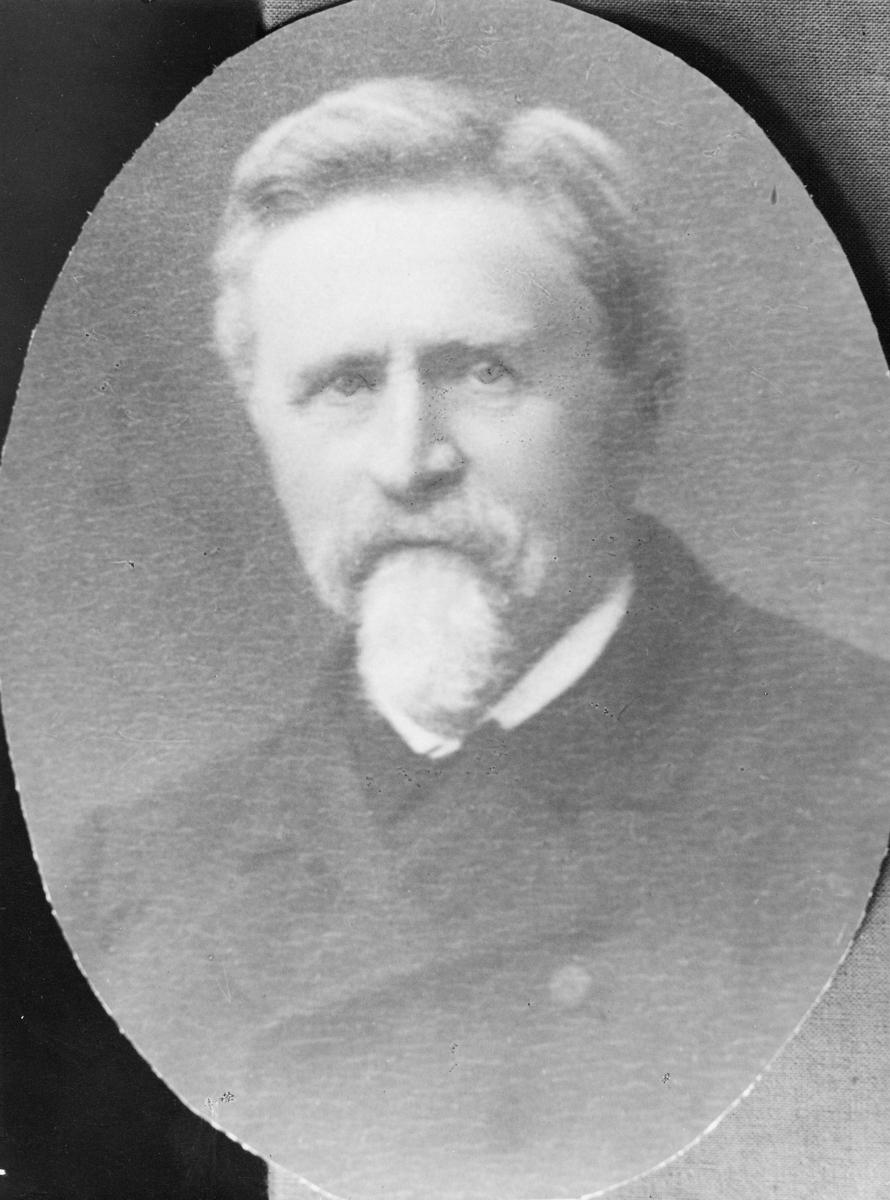 portrett, postmester, Erik Christian Kastrup Müller