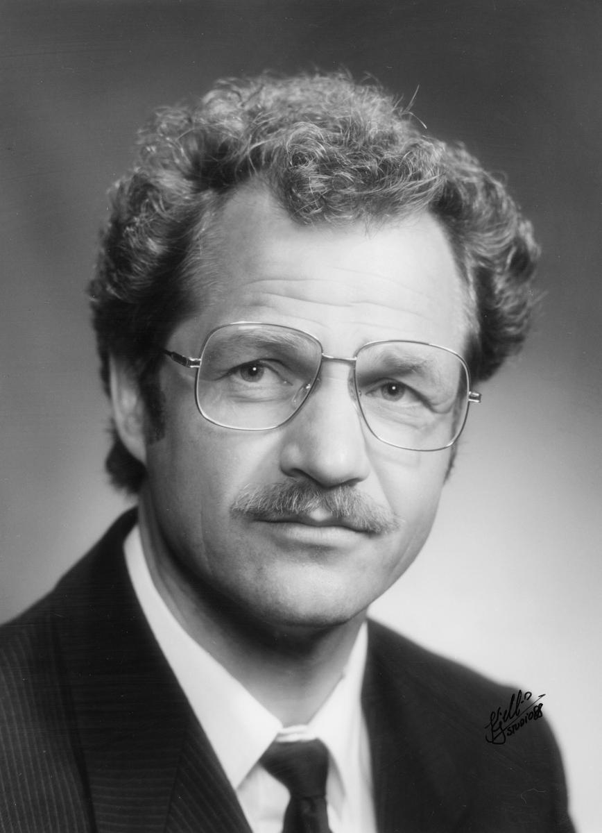 postmester, Krokstad Petter Iver, portrett