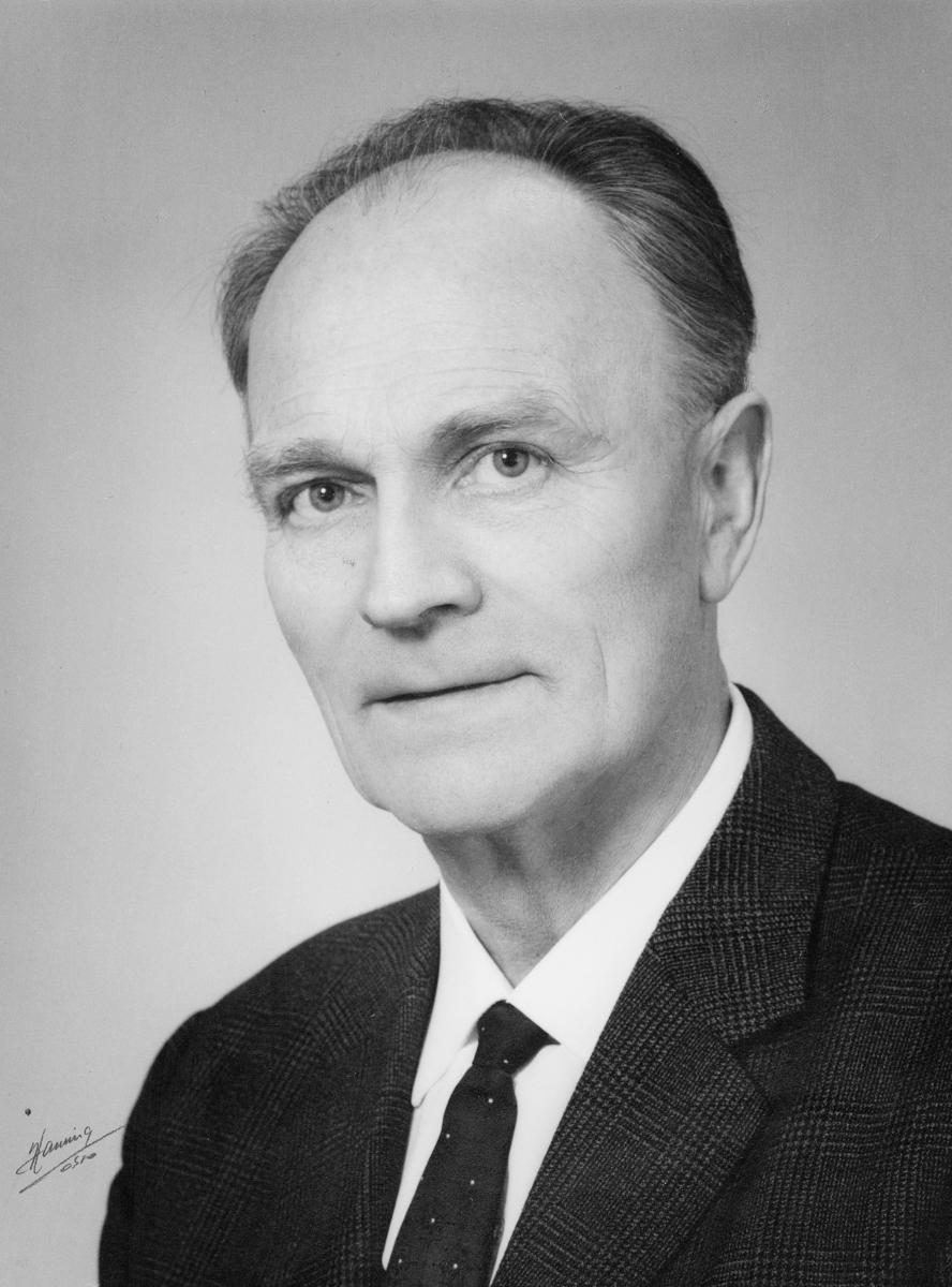 bankosjef, Johnsen Christian, portrett