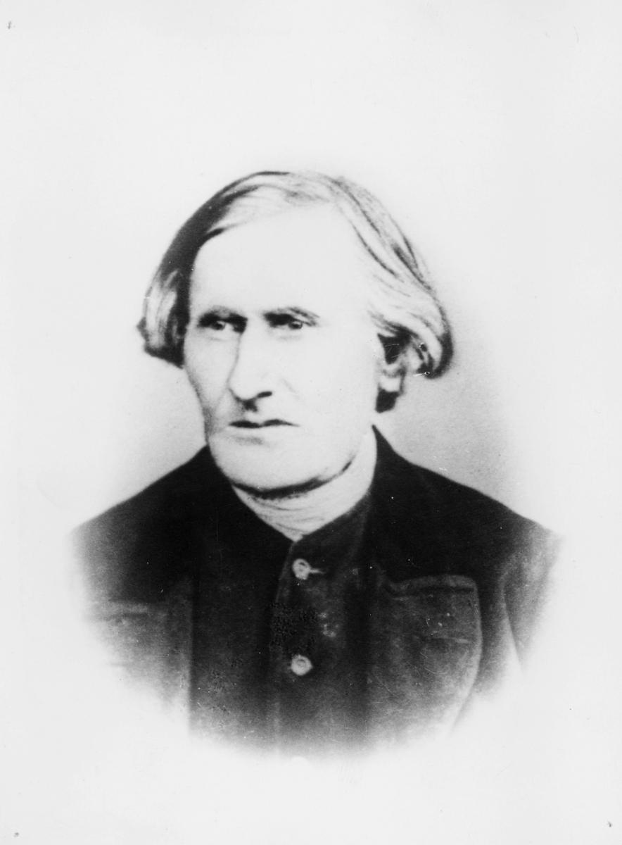 poståpner, Kaarbø Olsøn Wilhelm, portrett