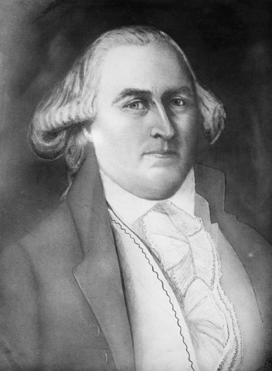 portrett, postmester i Oslo, John A. Messell, portrett