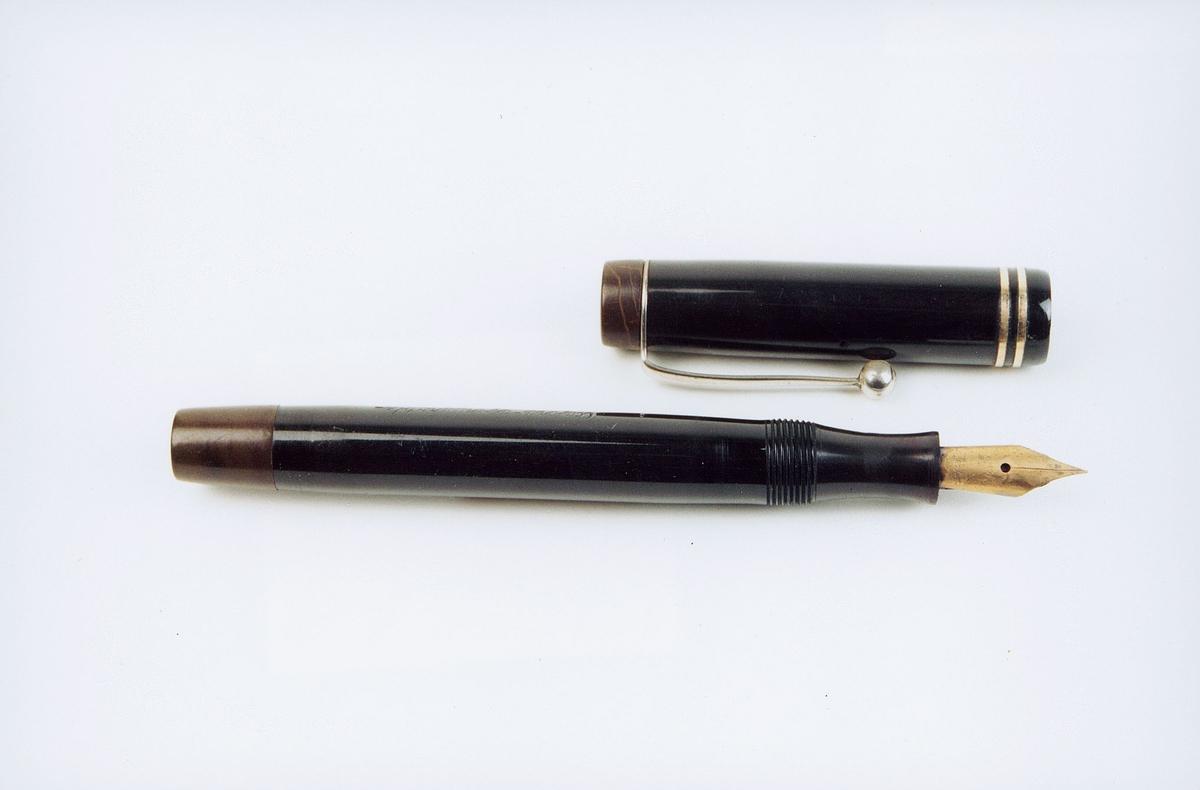 postmuseet, gjenstander, penn, fyllepenn, Oxford