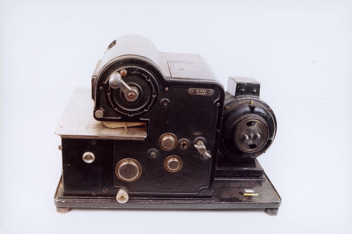 postmuseet, gjenstander, frankeringsmaskin, Hasler nr. 851