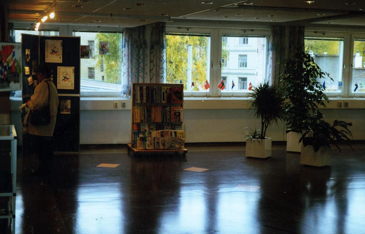 frimerketjenesten, Oslo, Schweigaards gate 33 B, butikken
