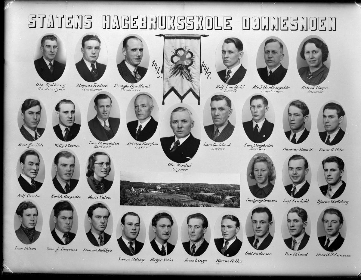 Statens hagebruksskole, Dømmesmoen