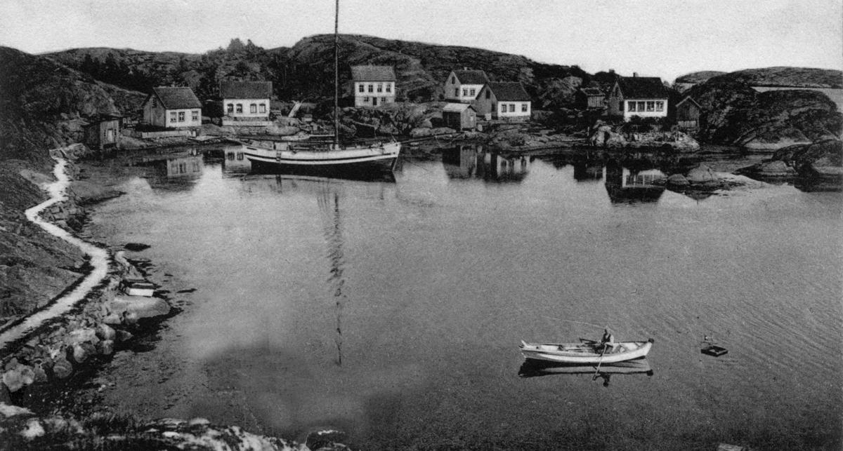Klåholmen, Østre Sandøy