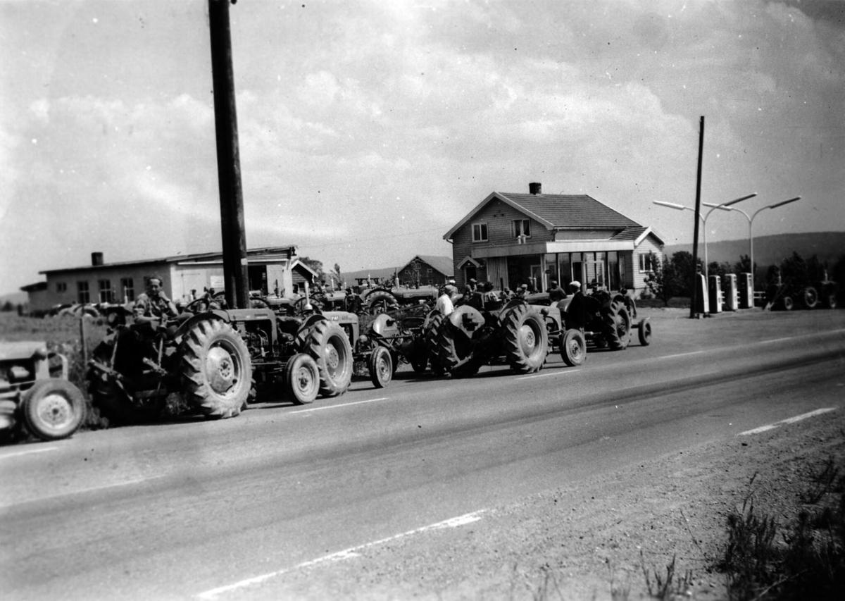Traktorvisning.