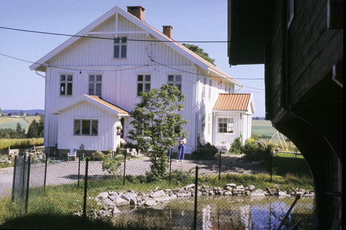 Nedre Fjeldstad gård, hovedhuset