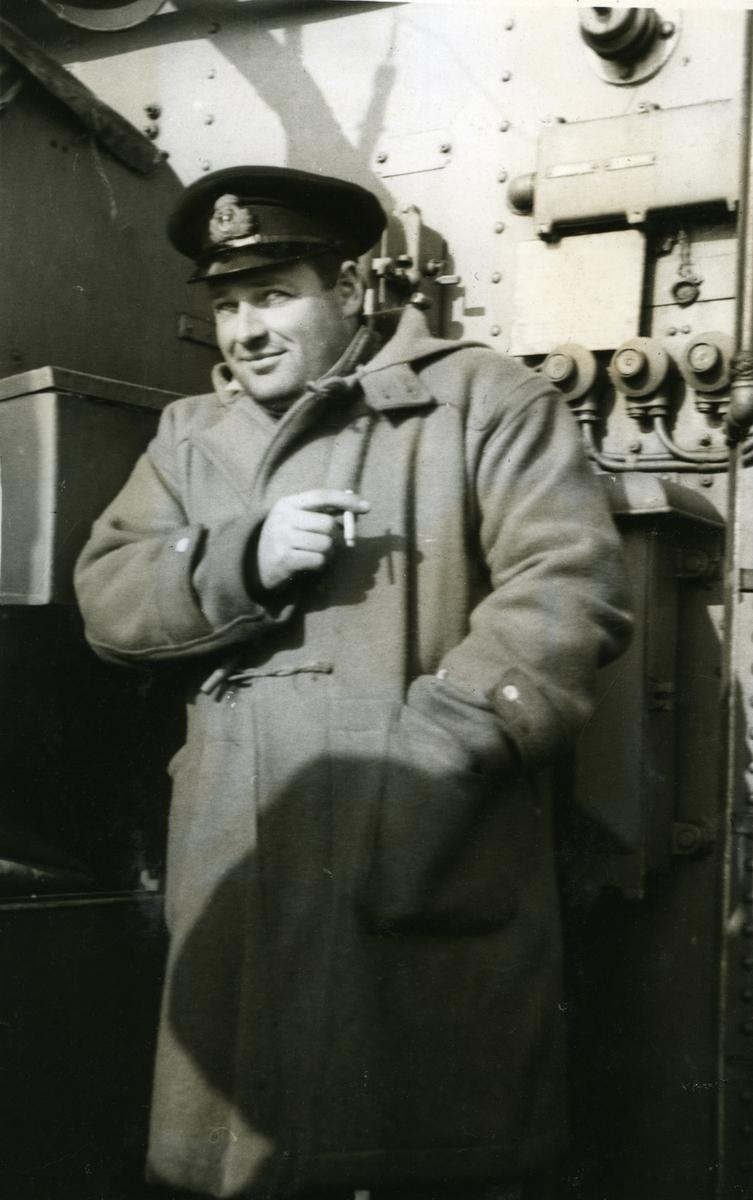Album Ubåtjager King Haakon VII 1942-1946 Ltn. Saars 1941.