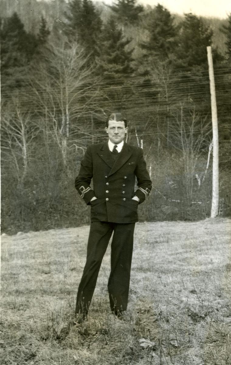 Album Ubåtjager King Haakon VII 1942-1946 Engelsk Ltn. Ch. Mullam.