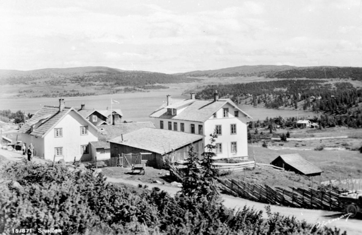 Sjusjøen fjellstue, Ringsakerfjellet.
