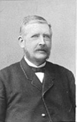 PORTRETT: LENSMANN DAHL, VANG? Lensmann Hans Dahl, Ringebu.