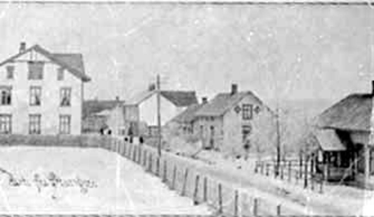OVERSIKT STANGEBYEN FØR BRANNEN I 1911