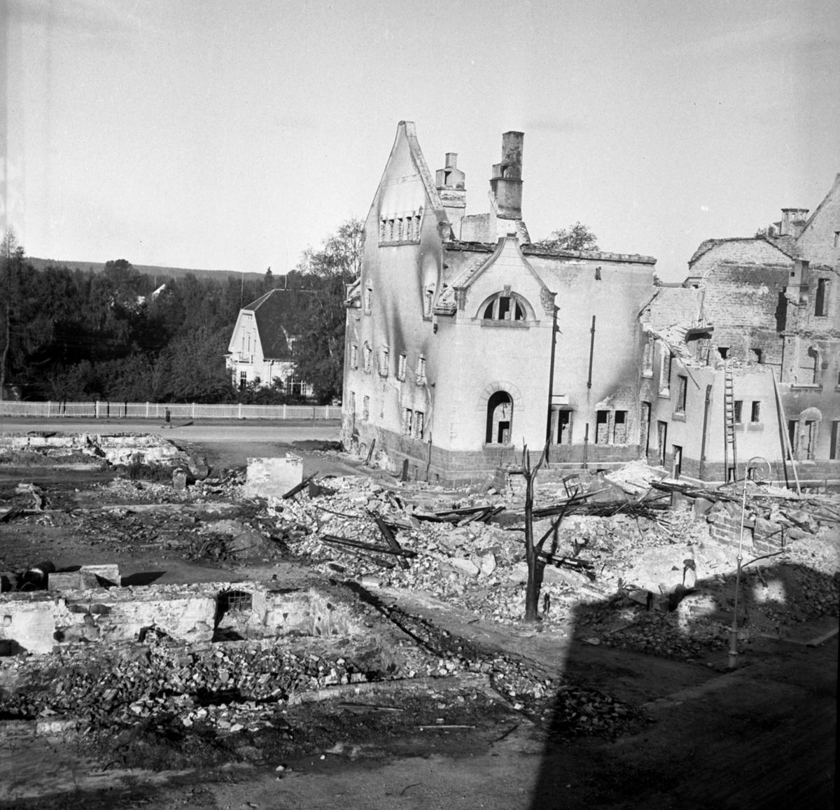 Leiret i ruiner