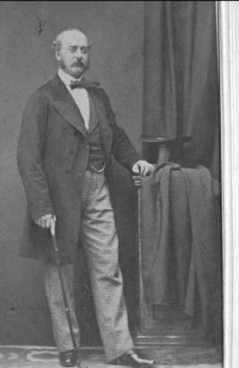Porträtt av Hjalmar Mauritz Ludvig Holst