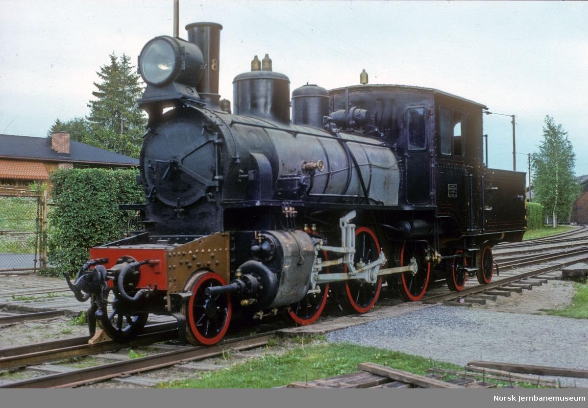 Damplokomotiv NSB type XXVI nr. 81