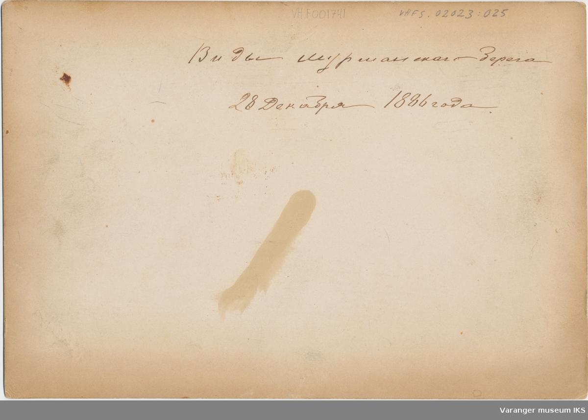 Byprospekt, Kola. 28. desember 1886.