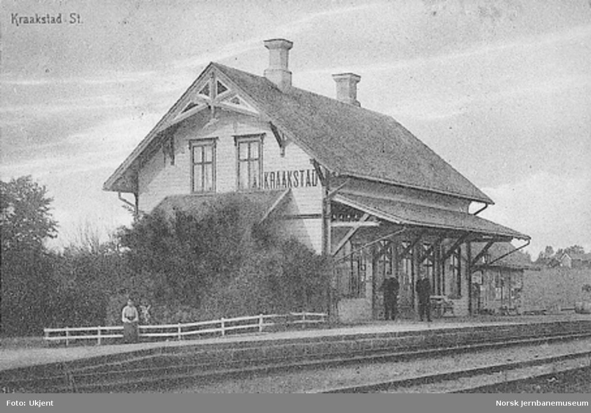 Kråkstad stasjonsbygning