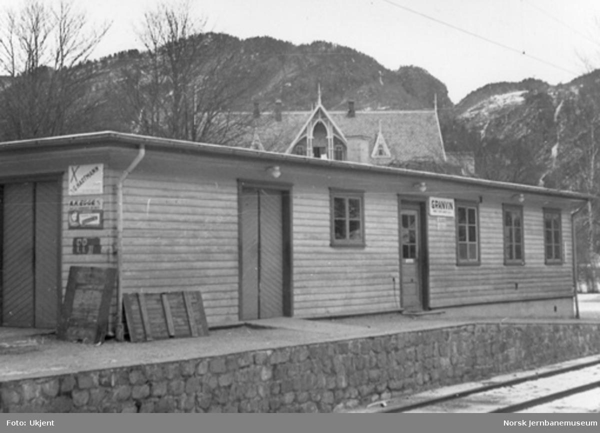 Granvin stasjonsbygning
