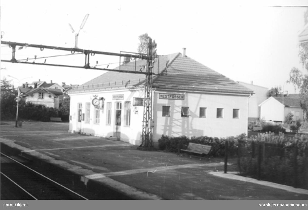 Vestfossen stasjonsbygning