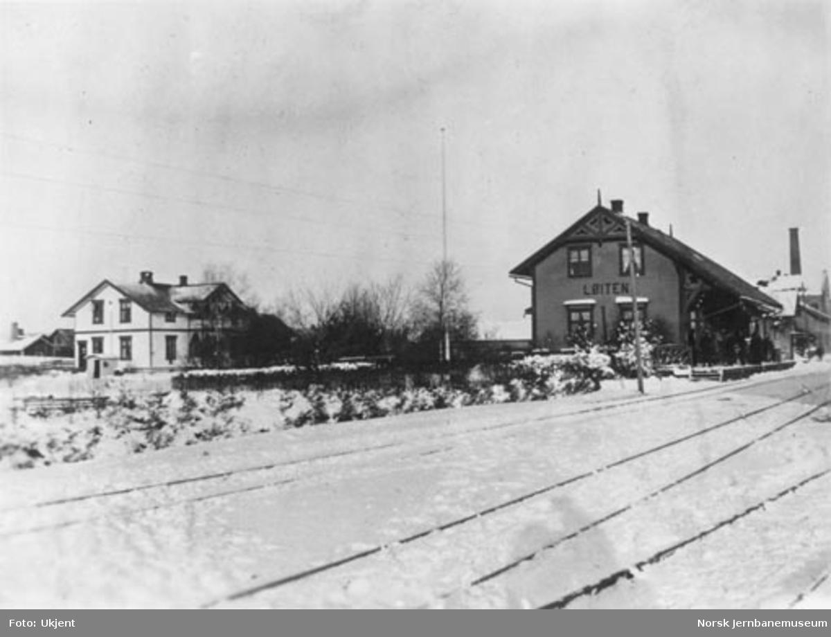 Løten (Løiten) stasjon