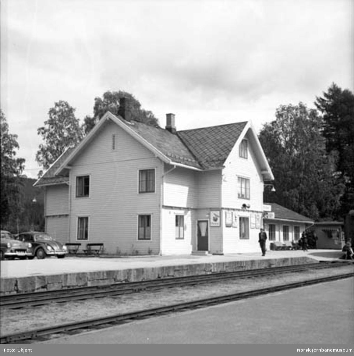 Koppang stasjon : den gamle stasjonsbygningen
