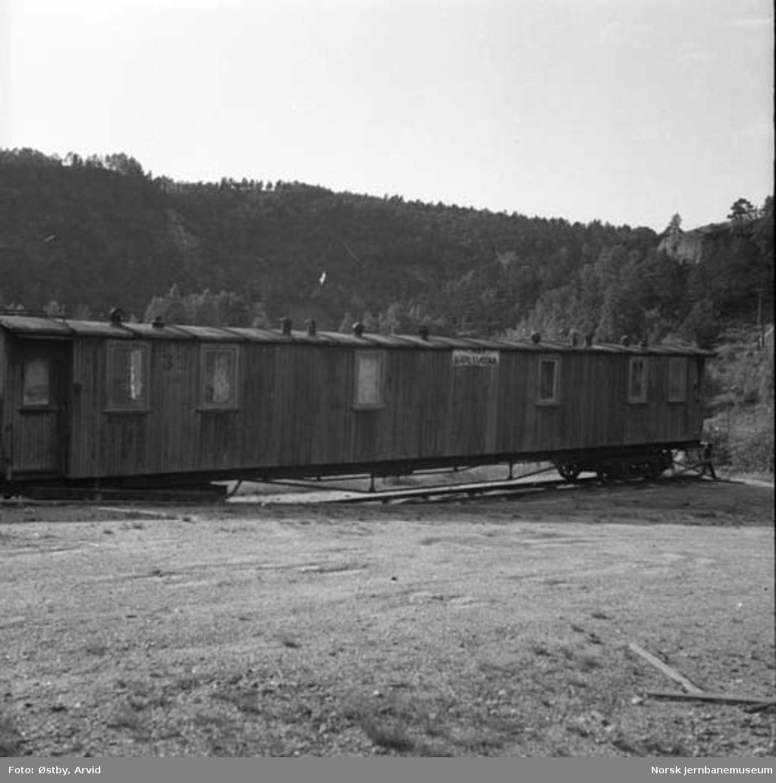 "Setesdalsbanens losjivogn nr. 158 ""Karlsvogna"""