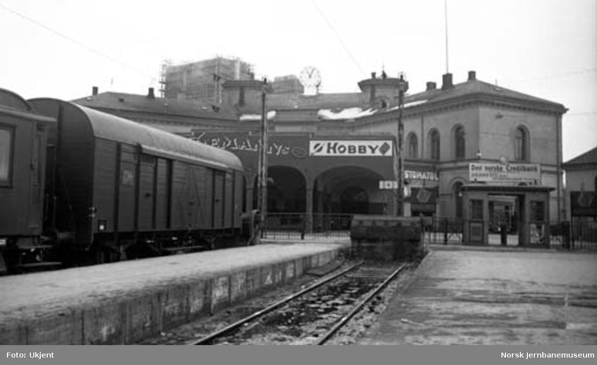 Oslo V : fra plattformen