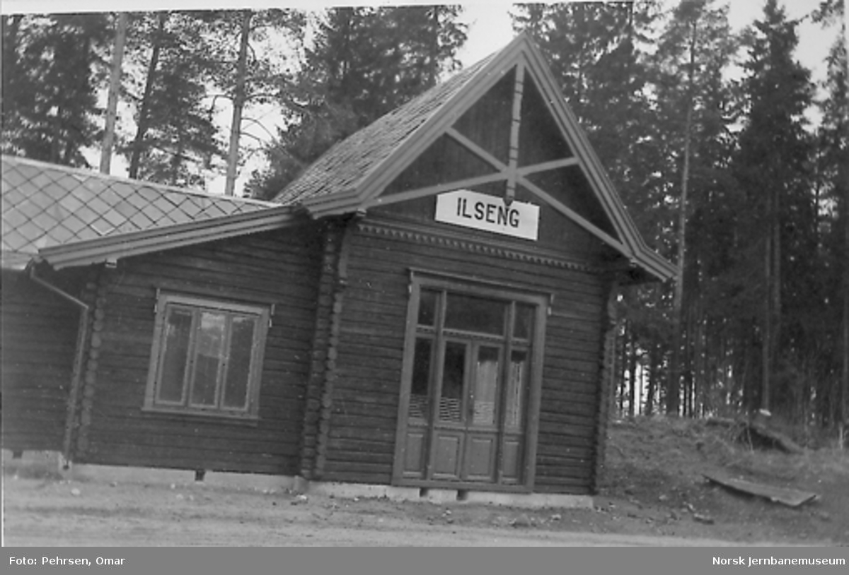 Nytt museum Martodden : Ilseng stasjonsbygning