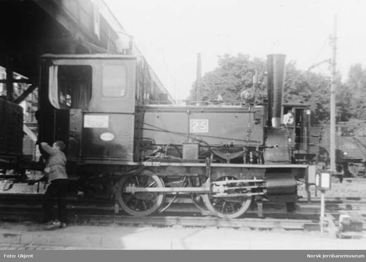 Damplokomotiv type 7a nr. 25