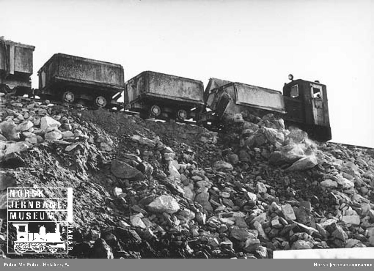 Anleggstog på Nordlandsbanen
