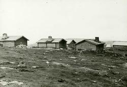 Nyseter, Feiring, Eidsvoll, Akershus. Setertun sett fra baks